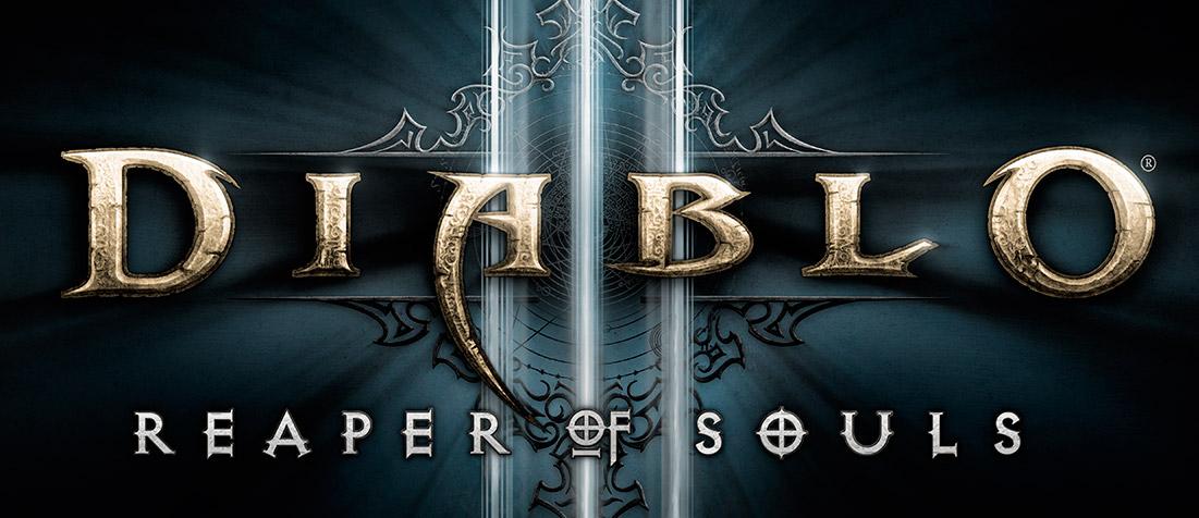 Diablo 3 Reaper of Souls Logo Close-up