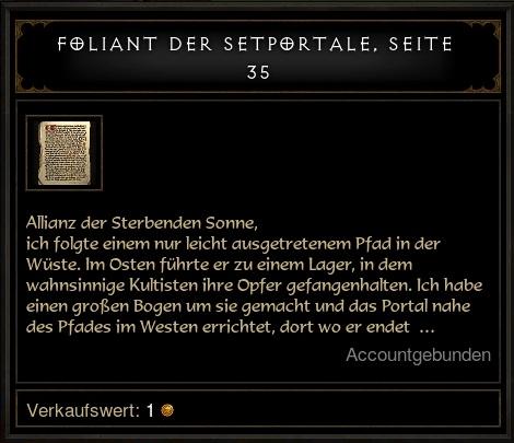 Foliant Rolands Vermächtnis
