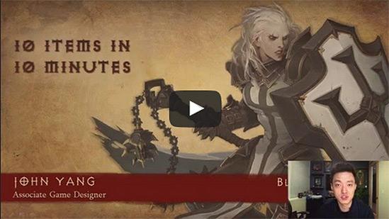 Diablo 3 Lightning Talk Items