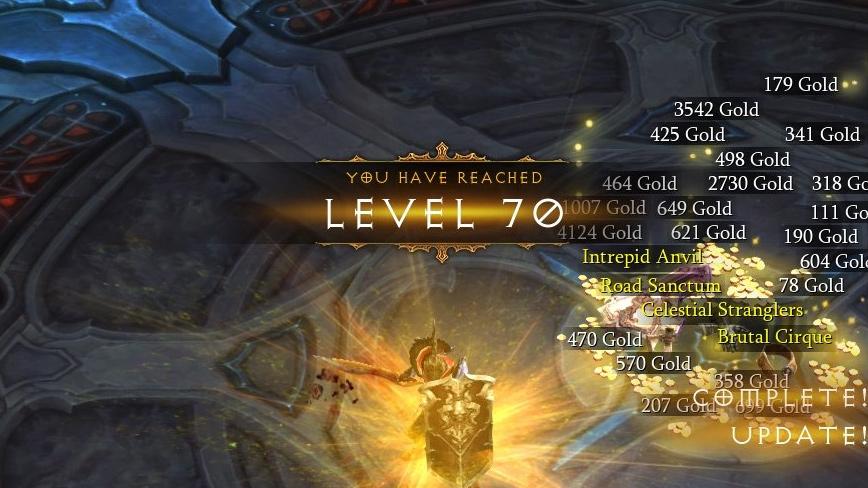 Level Guide Diablo 3