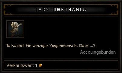 Lady Morthanlu Item