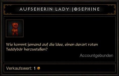 Aufseherin Lady Josephine