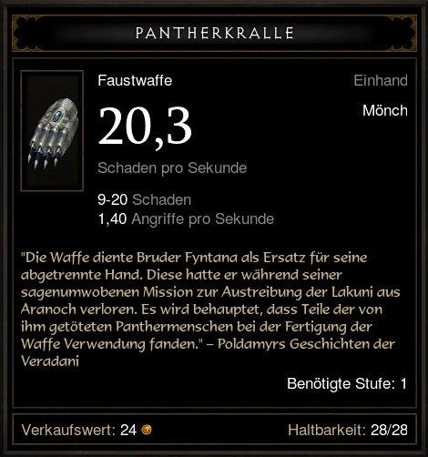 Pantherkralle