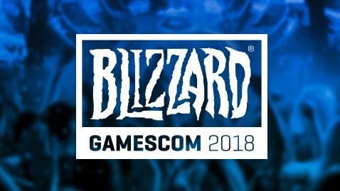 Blizzard Gamescom Köln 2018