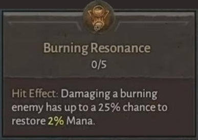 Burning Resonance