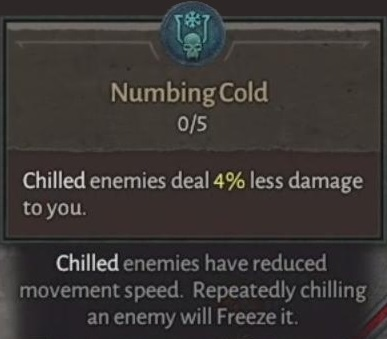 Numbering Cold