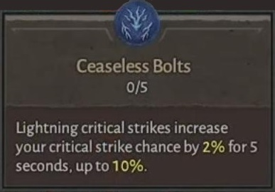 Ceaseless Bolts