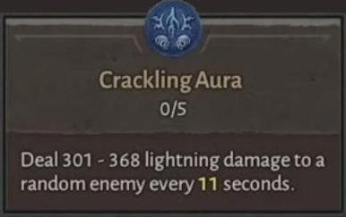 Crackling Aura
