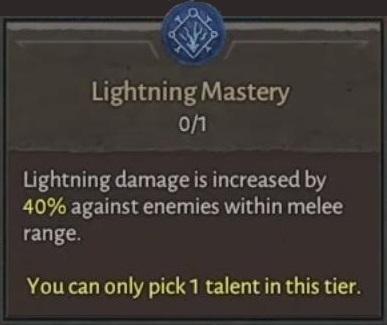 Lightning Mastery