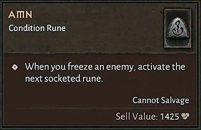 Diablo IV Runen