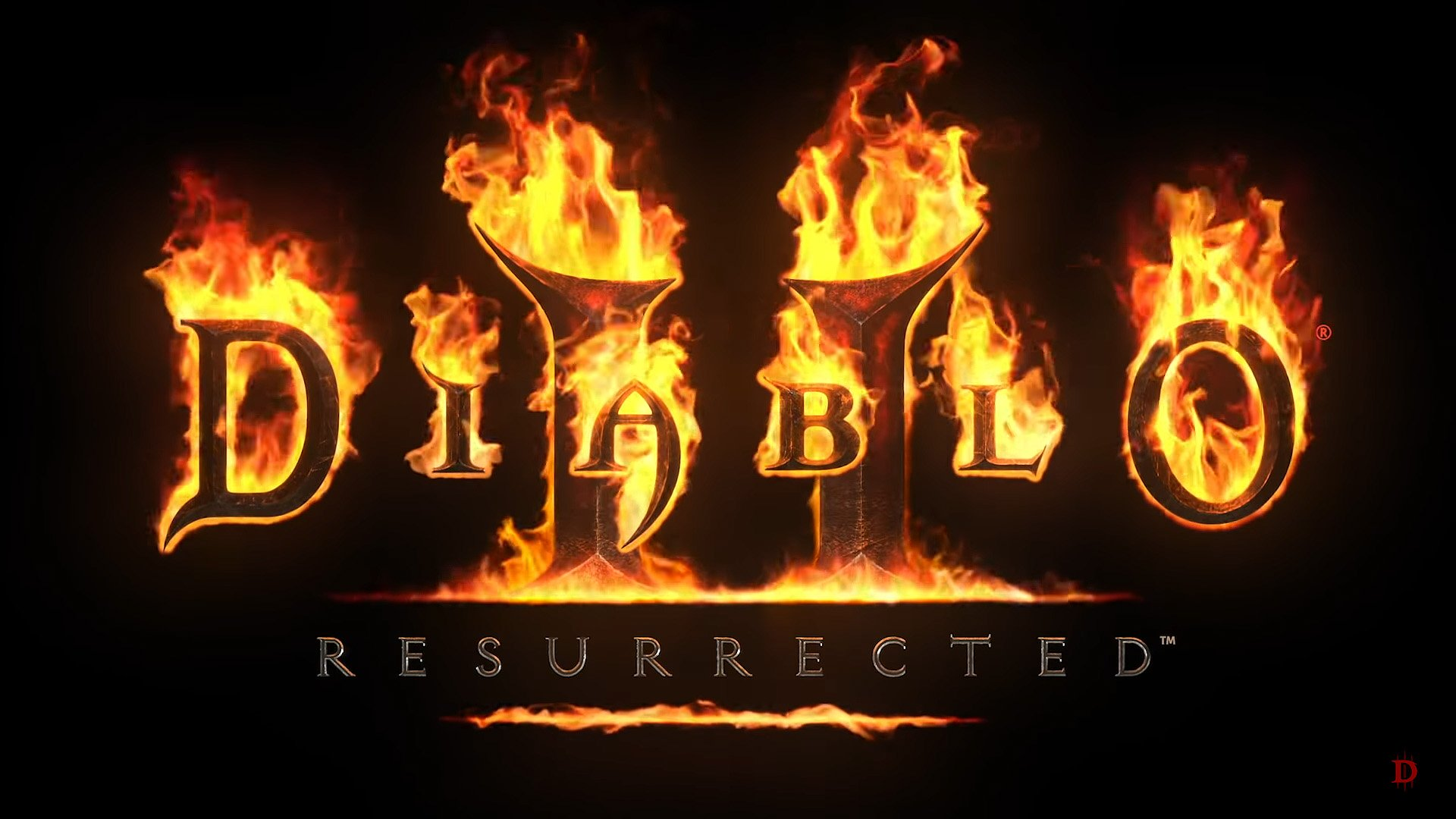 diablo 2 resurrected-flaming