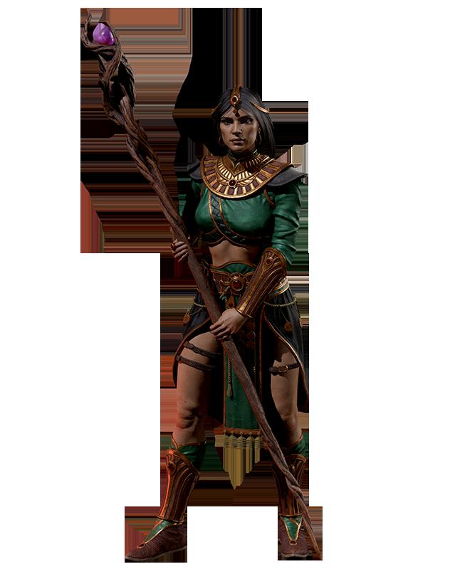 Diablo 2 Resurrected Sorceress Zauberin