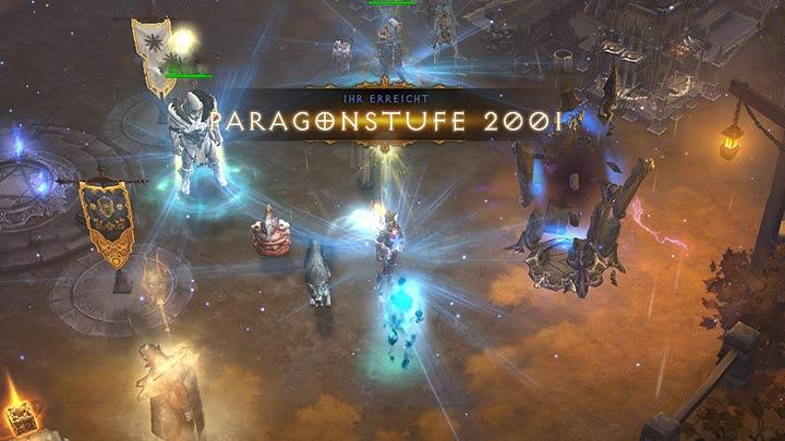 Paragonstufen Diablo 3