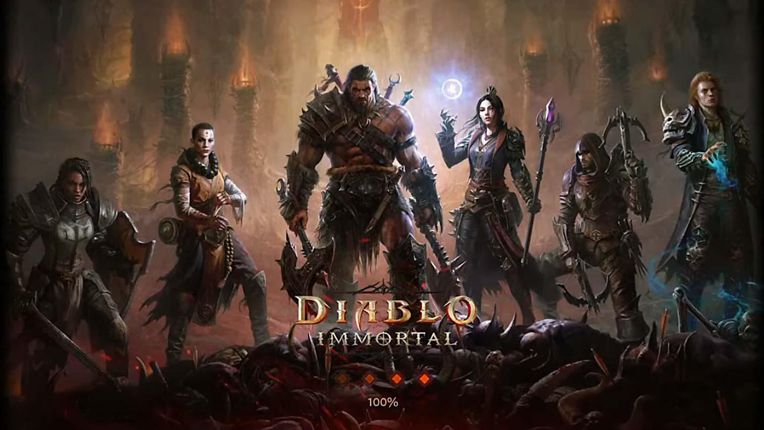 Diablo Immortal Screen